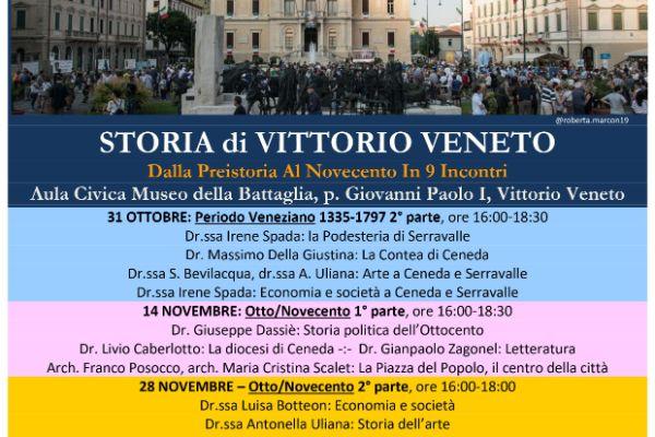 Storia di Vittorio Veneto, Otto/Novecento 2° parte - EVENTO RINVIATO -