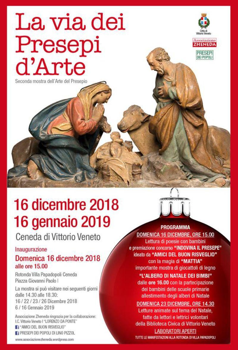 Poesie Di Natale Venete.Turismo Vittorio Veneto Natale Alla Rotonda Papadopoli